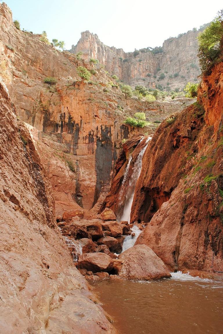 Oum Rabia Waterfall