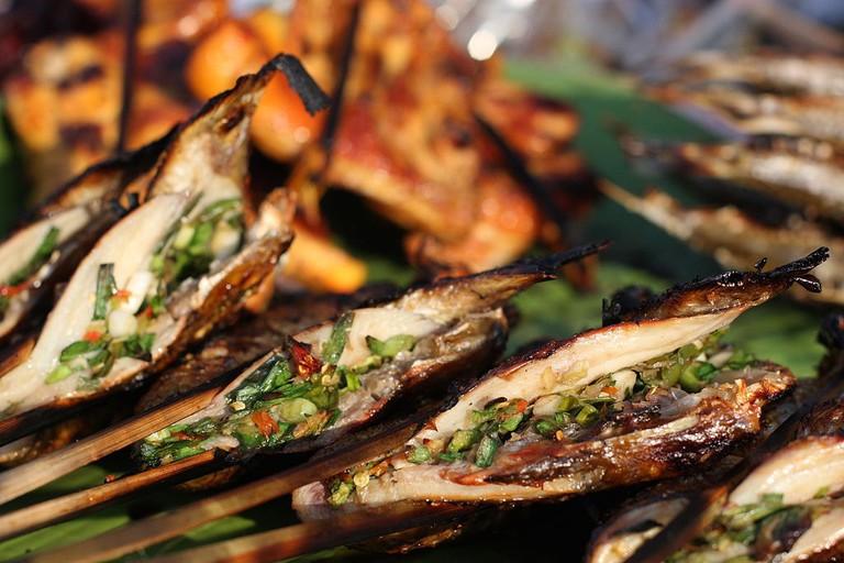 Meat, Vang Vieng, Laos | © Yeowatzup/WikiCommons