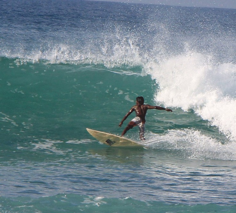 Surfing in Sri Lanka!