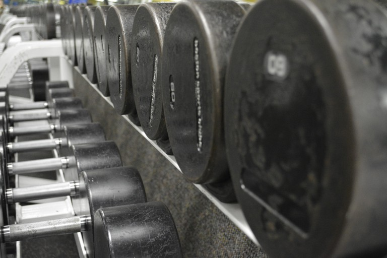 Free weights | © Jeff Blackler / Flickr