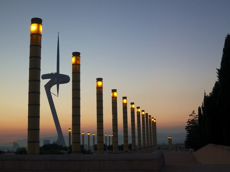 Barcelona's Olympic ring © Ania Mendrek