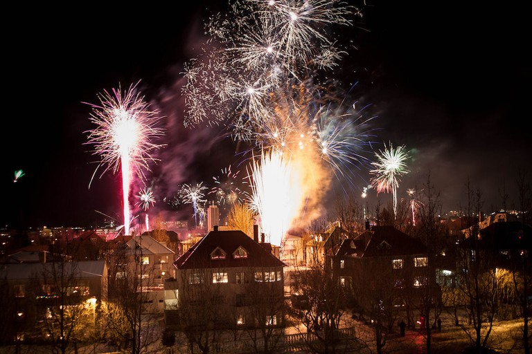 Iceland New Year's | © Johnathan Hood/Flickr