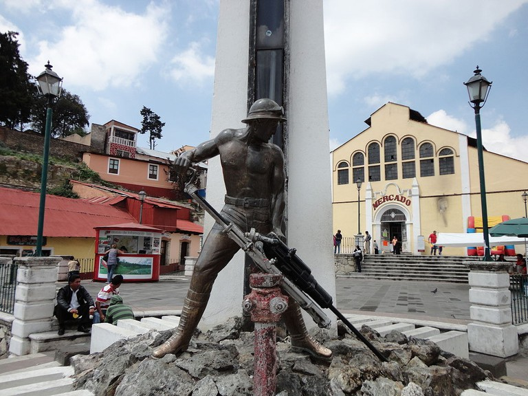 Monument to the Miner, Real del Monte