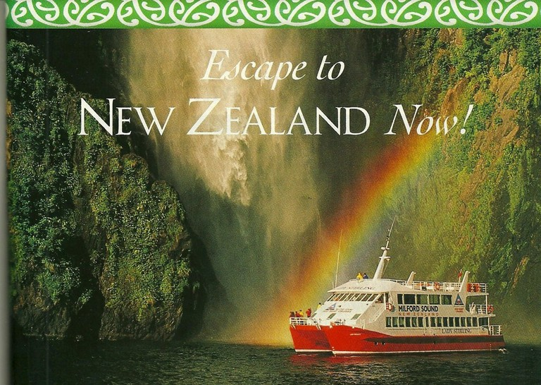 'Escape to New Zealand' Qantas Airlines Advert From 1997