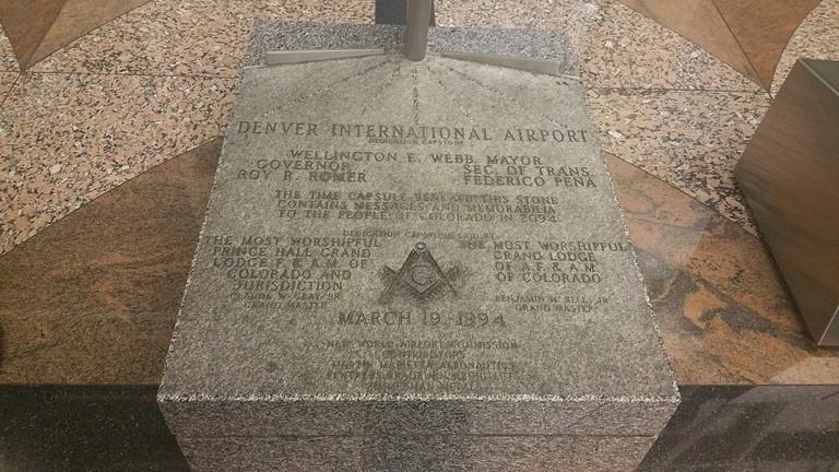 Masonic Monument at Denver International Airport