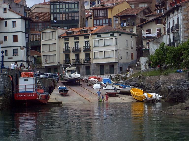 Mundaka port, Basque Country | ©Telle / Wikimedia Commons