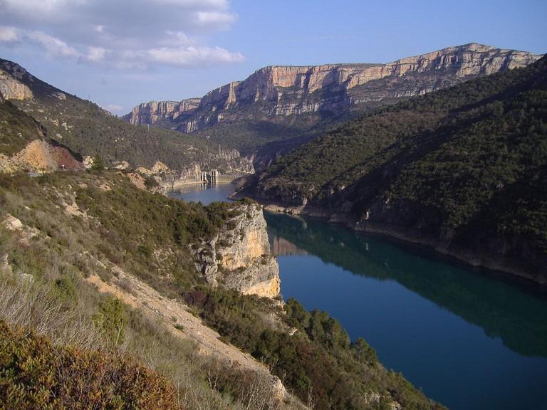 Pantano de Camarasa, Catalonia | ©El monty / Wikimedia commons