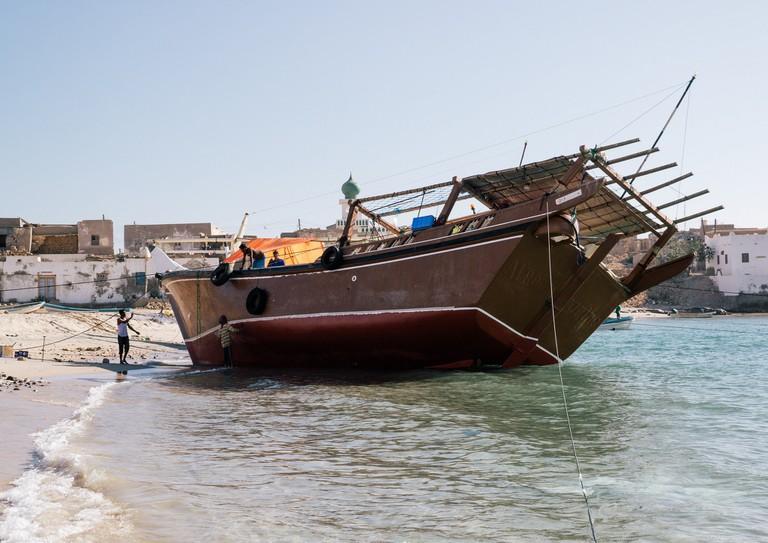 Boat in Salalah