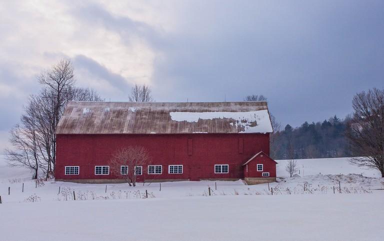 Barn, Stowe Vermont