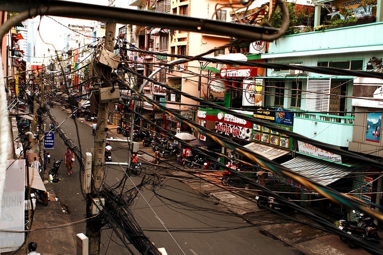 A shot of Bui Vien during the safer hours | © Frank Fox/Flickr
