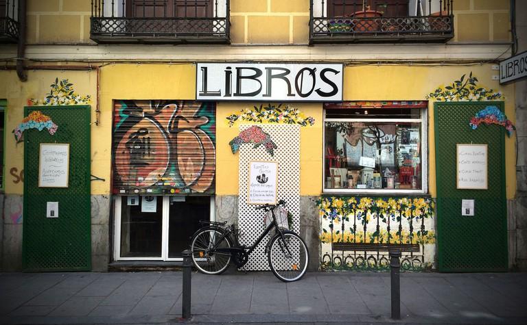 Malasaña bookshop
