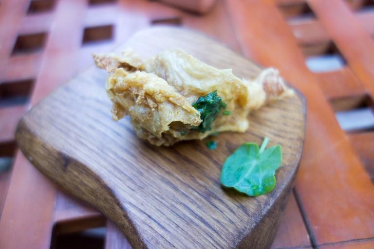 A dish at Mugaritz © Kent Wang