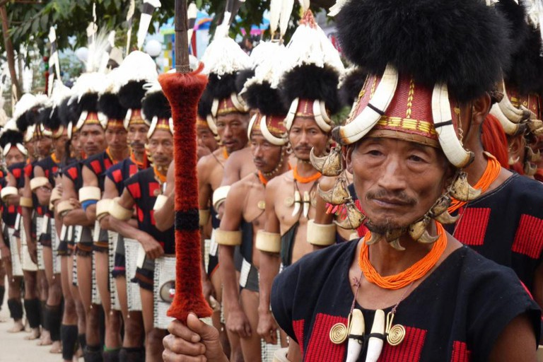 Nagaland traditional costume