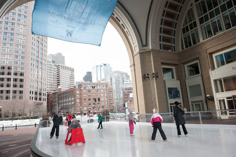 Harbor Hotel Outdoor Ice Skating