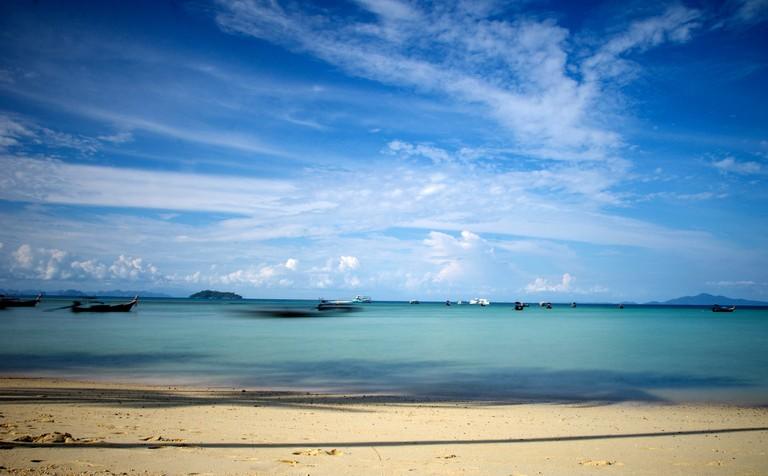 The azure waters of Koh Phi Phi