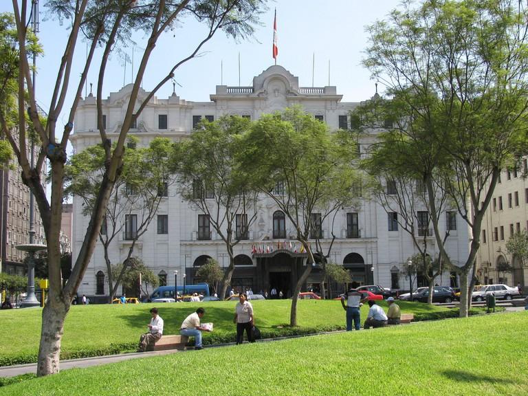 Gran Hotel Bolivar   © Peter Burka/Flickr