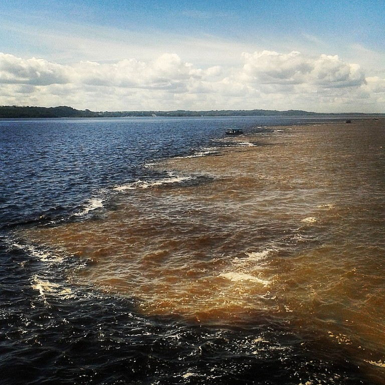 Meeting of the Waters, Manaus