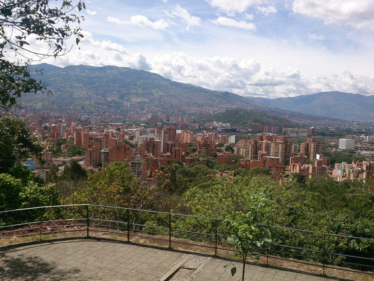 Medellin from Pueblitp Paisa