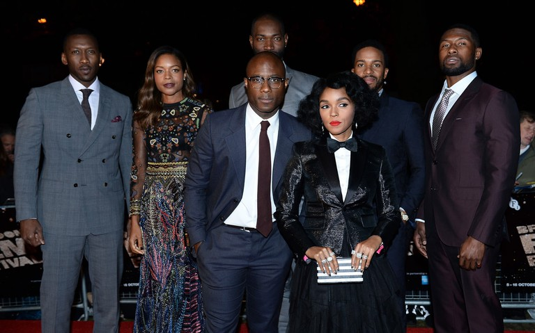 The cast of Oscar-winner Moonlight at last year's BFI London Film Festival