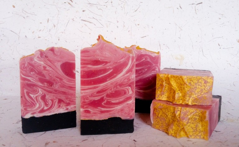 Gorgeous soaps are always available at Bath Bliss