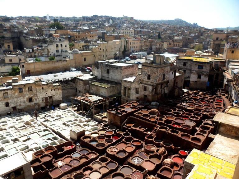 Tanneries, Fez