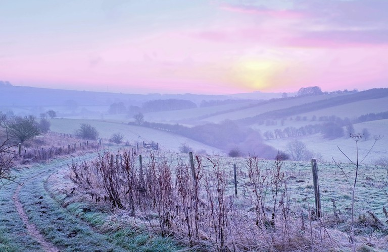 The Cotswolds in winter CC0 Pixabay