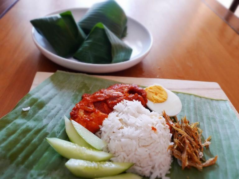 Traditional Nasi Lemak