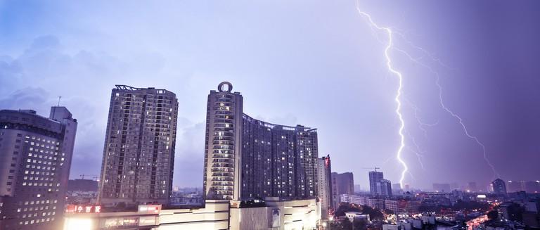 Lightning in Nanning