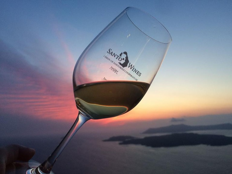 Courtesy of Santo Wines Winery