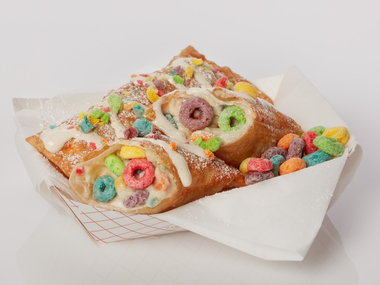 Deep-fried Froot Loops at the State Fair of Texas