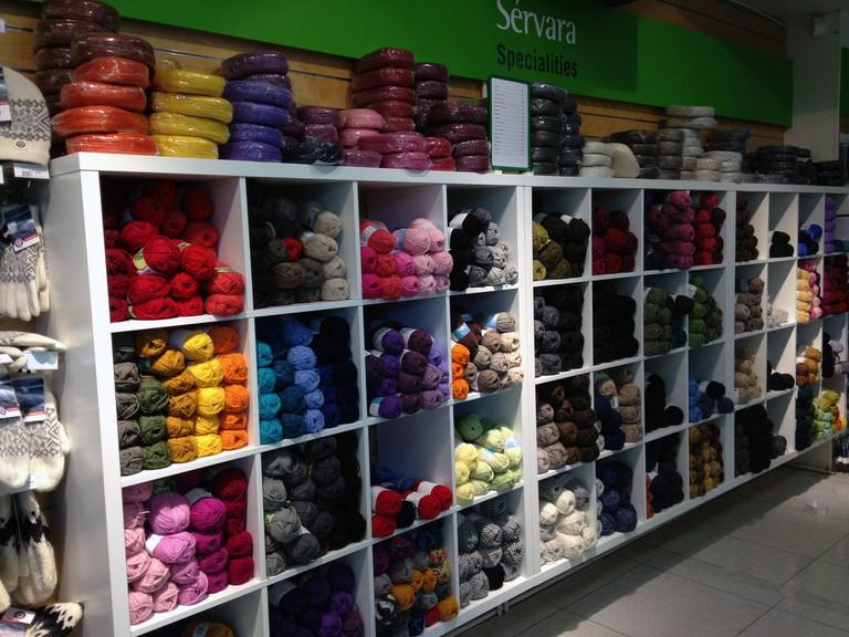 Supermarket yarn | © Jennifer Boyer/Flickr