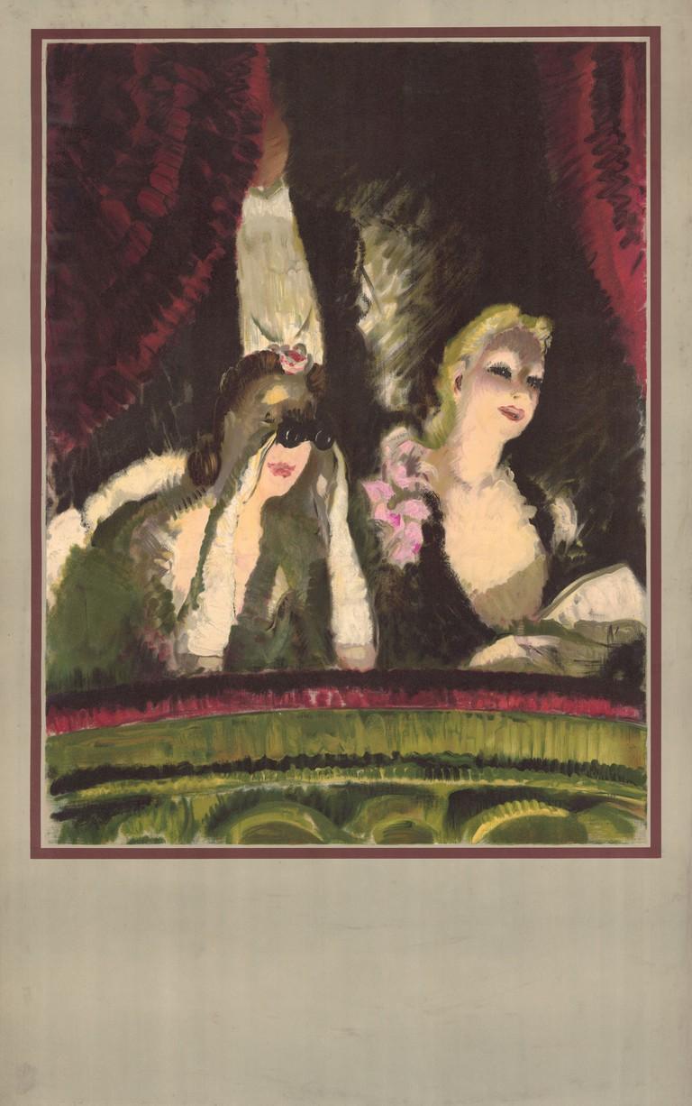 1983_4_5376- At the Theatre, by Doris Zinkeisen, 1939