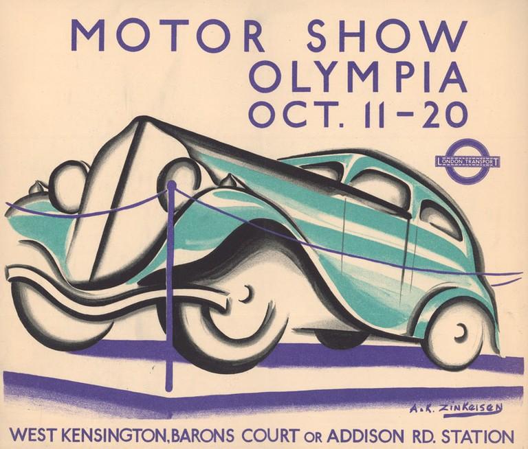1983_4_9544- MotorShow,Olympia,Oct 11-20, by Anna Katrina Zinkeisen,1934