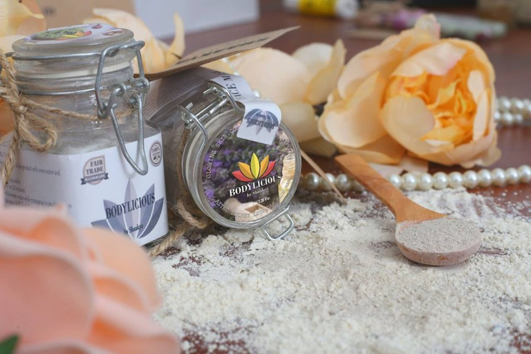 Amazing face scrubs and bath salts are the favorite products at Bodylicious