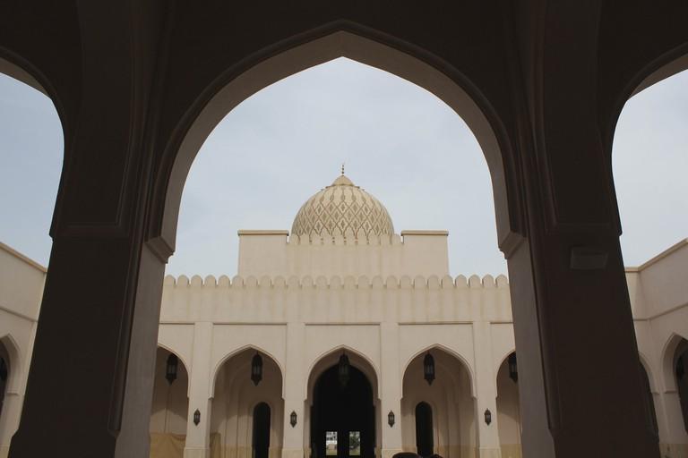 Sultan Qaboos Mosque in Salalah