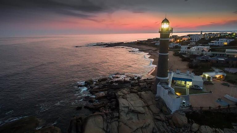 Lighthouse in José Ignacio