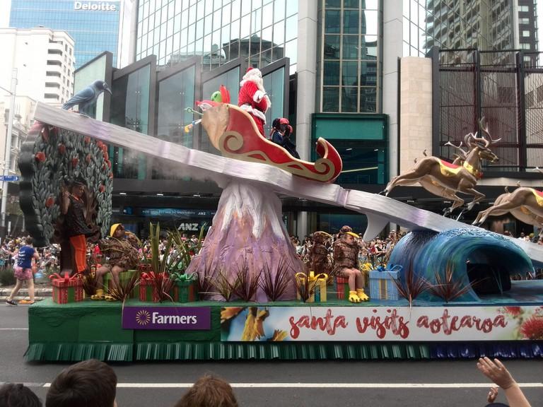 Auckland Santa Parade