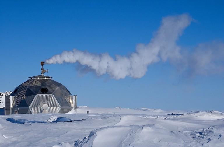Geothermal borehole house | © Lydur Skulason