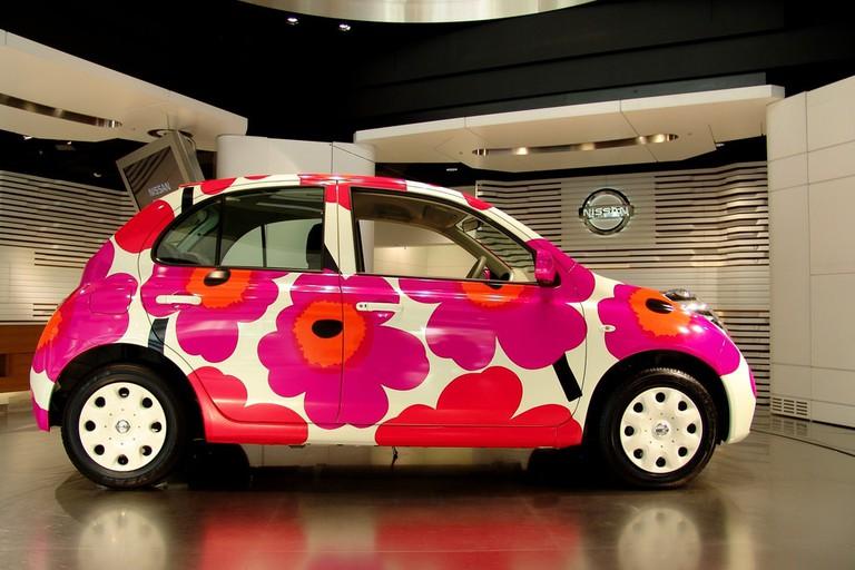 Marimekko patterned car