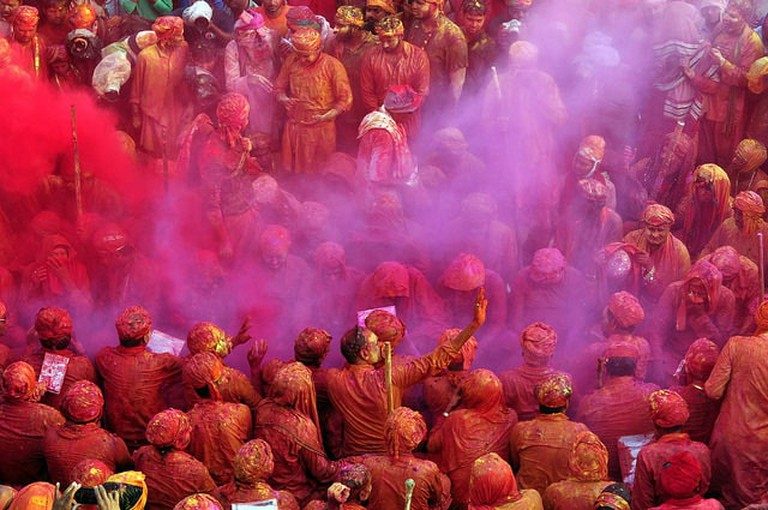 The celebration of Holi starts in these villages