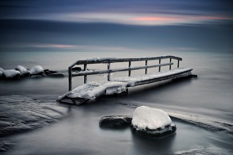 Frozen bridge | © Keijo Savolainen