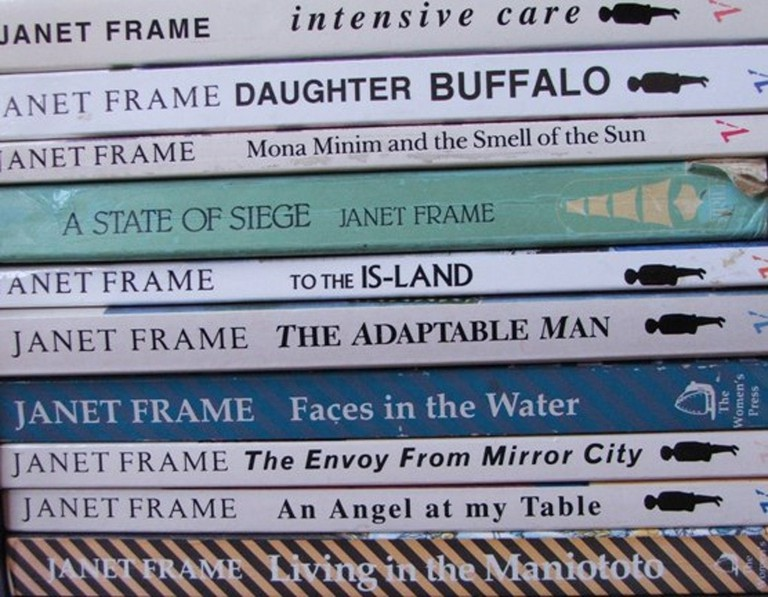Collection of books by Janet Frame