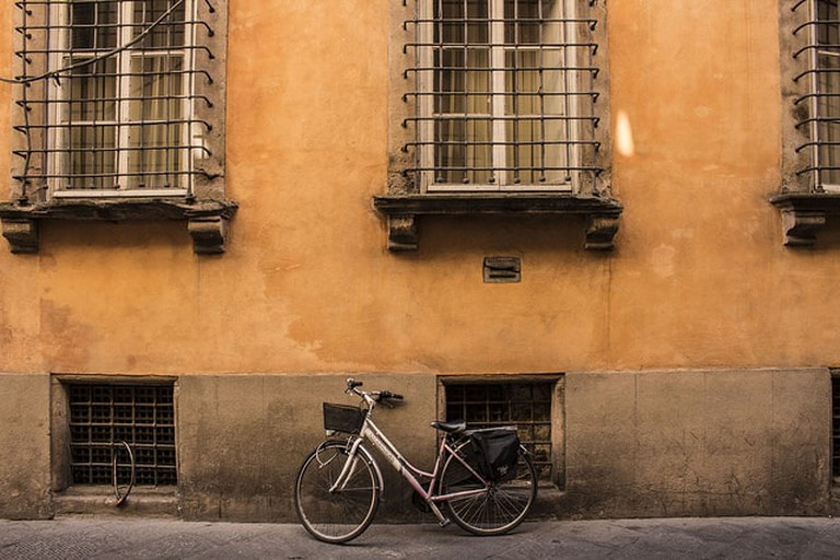 A bike in Lucca| © Rory/Flickr