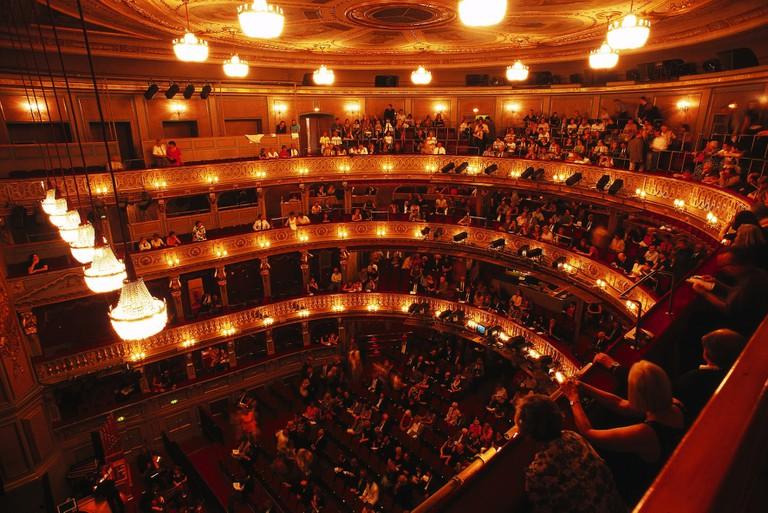 A concert at Vienna's Burgtheater