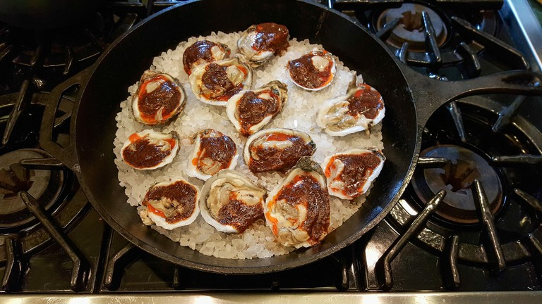 Chipotle Oysters