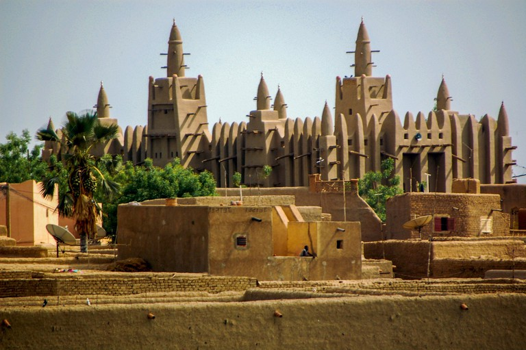 The Great Mosque of Djenné, Mali