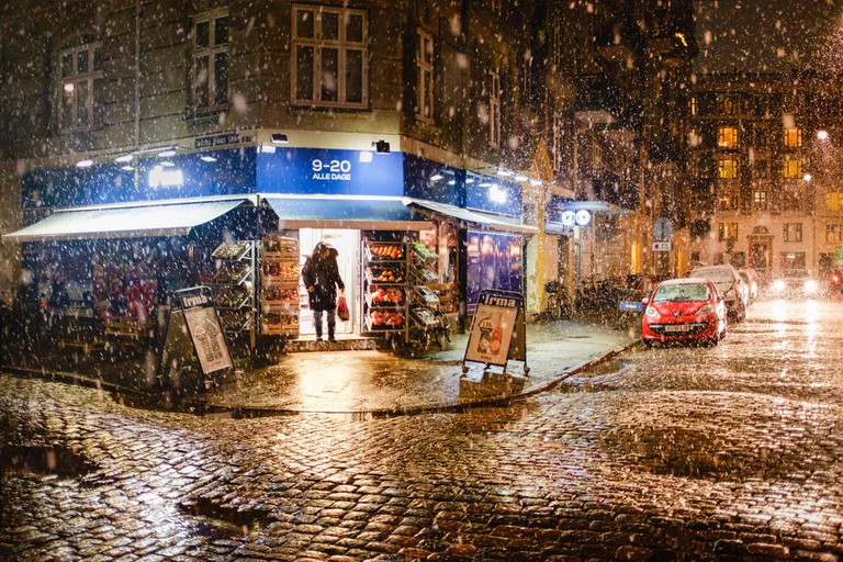 Snowy Copenhagen