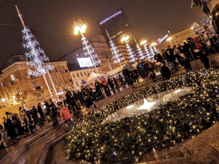 Christmas in Zagreb | © Leon/Flickr