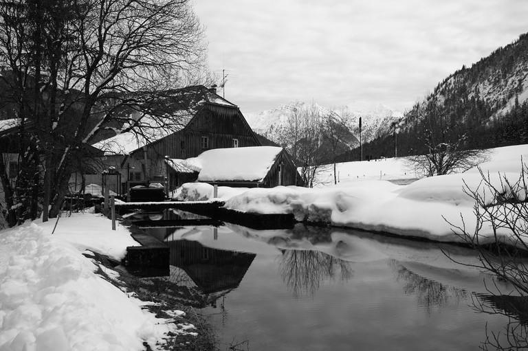 Oberammergau in winter