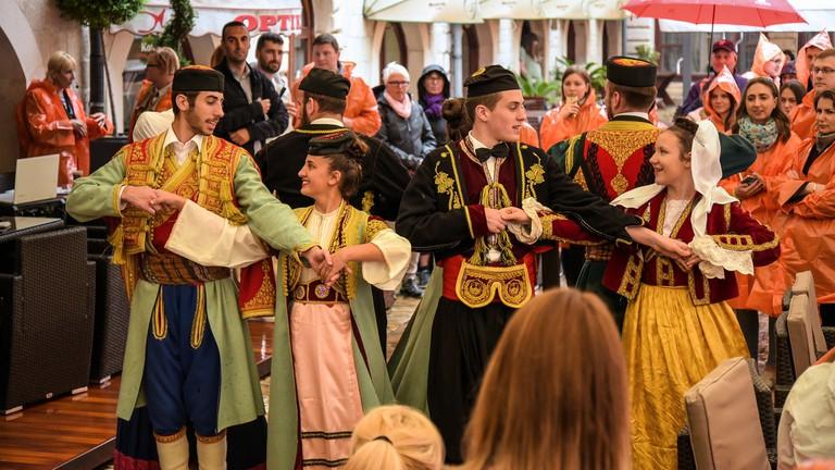 Folklore dancers Kotor   © Jorge Franganillo/Flickr